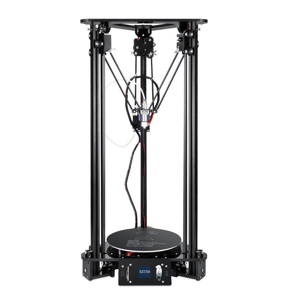 Nouveau Kit d'imprimante 3D T1 Delta bricolage 180*300*320mm grande taille d'imprimante prise en charge du Filament de changement automatique de nivellement Intelligent