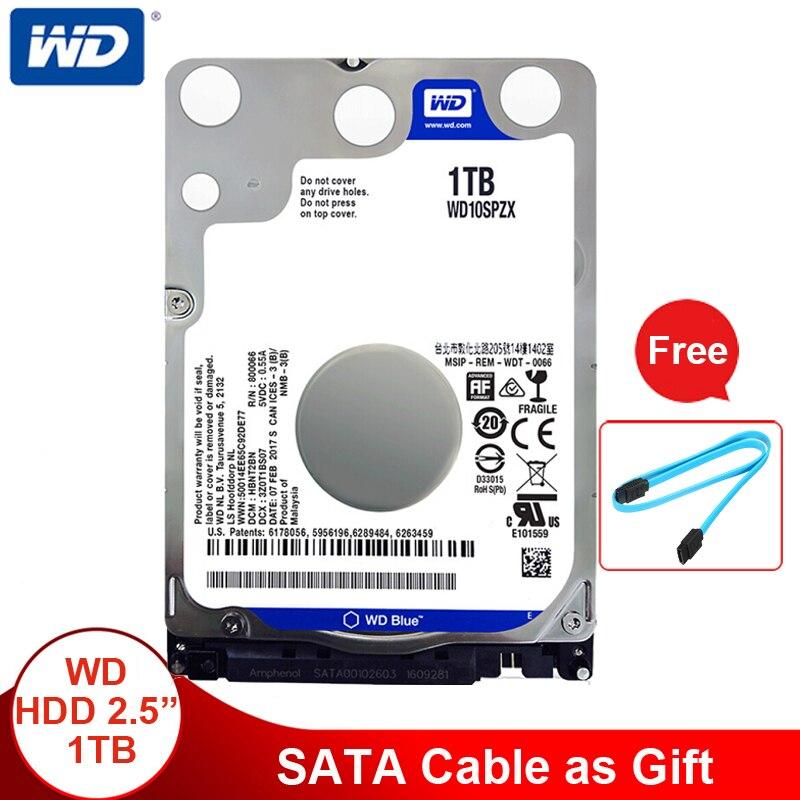 Western Digital WD Blue 2 5 1TB HDD Internal Hard Disk Drive 1TB SATA 6Gb s