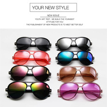 Umanco 2019 New Aviator Kids Sunglasses  For Children Fashion Polycarb