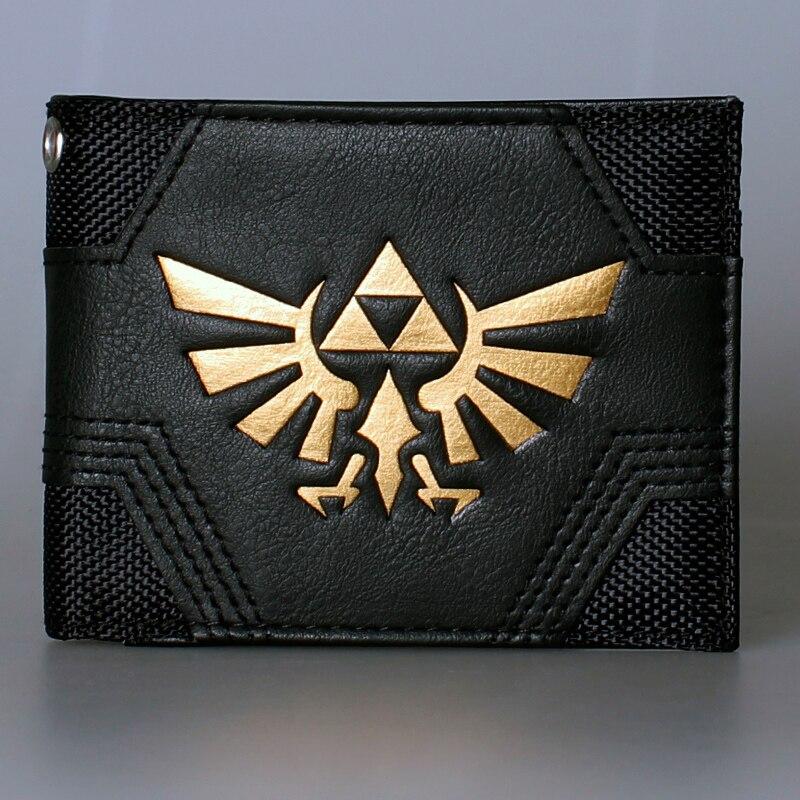 The Legend of Zelda wallet DFT-1562 zelda wallet bifold link faux leather dft 1857