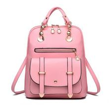 Новые 2016 плечи женская сумка мода женский пакет институт ветер женская сумка рюкзак для путешествий
