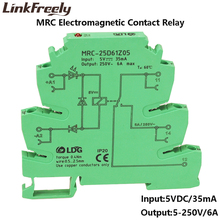 MRC-25D61Z05 6A 5VDC Output Amplifier PLC Interface Module Relay Board Electromagnetic Contact Relay Switch 12V 24V DC 120V AC цена