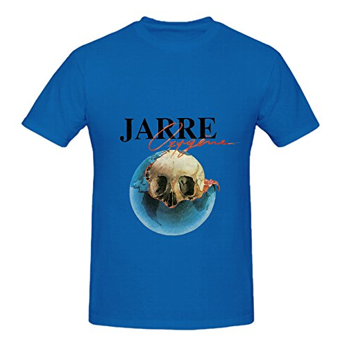 Jean Michel Jarre Oxygne Jazz Mens O Neck Casual ShirtMale Harajuku Top Fitness Brand Clothing T-Shirt Casual Man Tees