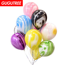 Decorate 100pcs 12inch black pink blue green latex balloon wedding event christmas halloween festival birthday party PD-131