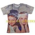 Лето стиль ловушка для принт 3d t рубашка женщины / мужчины harajuku футболка vetement роковой S-XXL