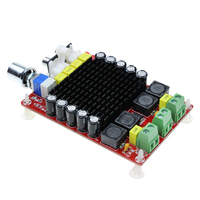 Dual Channel Audio Stereo Amplifier Board XH M510 TDA7498 DC 14 34V Amplifier Board Of Class