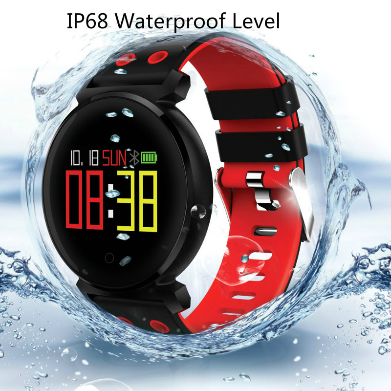 Image 3 - Best Smart watch Optical heart sensor HR Fitness Activity Tracker Watch Blood pressure IP68 professional waterproof armband-in Smart Wristbands from Consumer Electronics