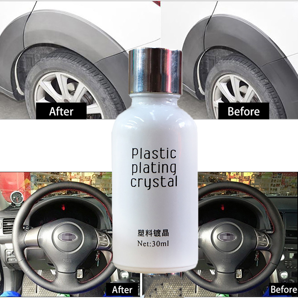 Car Oxidation Liquid Ceramic Coat 30ML 9H Super Hydrophobic Glass Coating Set l0401(China)