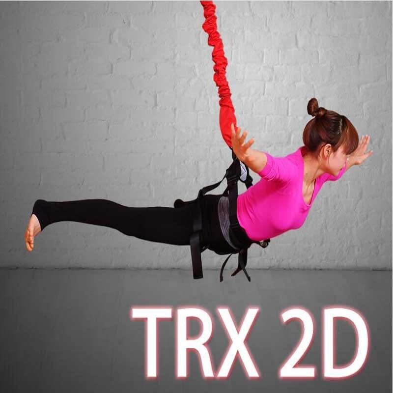 2D Fitness Ceinture Élastique Yoga Aérien Ceinture Intérieure Yoga Aérienne Ceinture Danse Yoga Aérien À L'élastique Avec Yoga Corde Sangle