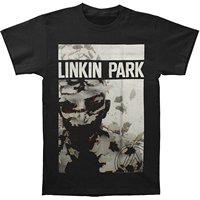 LINKIN PARK Living Things Alternative Rock Band T-Shirt Nera degli uomini formato S-3XL Stampa T Shirt Mens Manica Corta Hot Top Tee