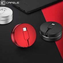 Cafele Cable USB Type C for Xiaomi 8 Huawei P20 Retractable Portable Fast Charging