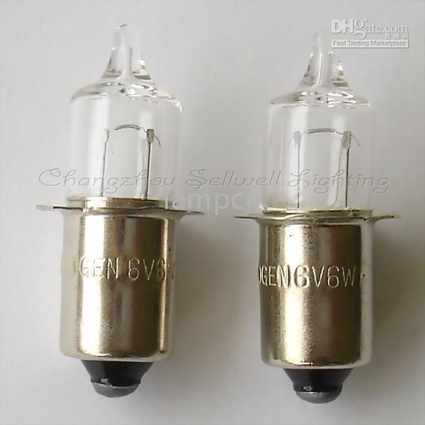 halogenpære a392 6v 6w P13.5S sellwell belysning