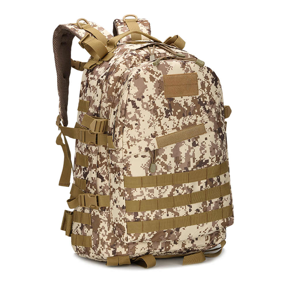 Military Tactical Assault Camouflage Backpacks Outdoor Camping Travel Mountaineering Bag Special Forces Backpacks NEW(China)