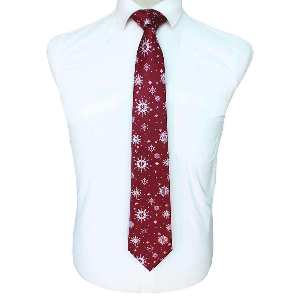GUSLESON kaliteli baskı noel kravat erkek moda 9cm ipek kravatlar Helloween festivali kravat yumuşak tasarımcı karakter kravat hediye