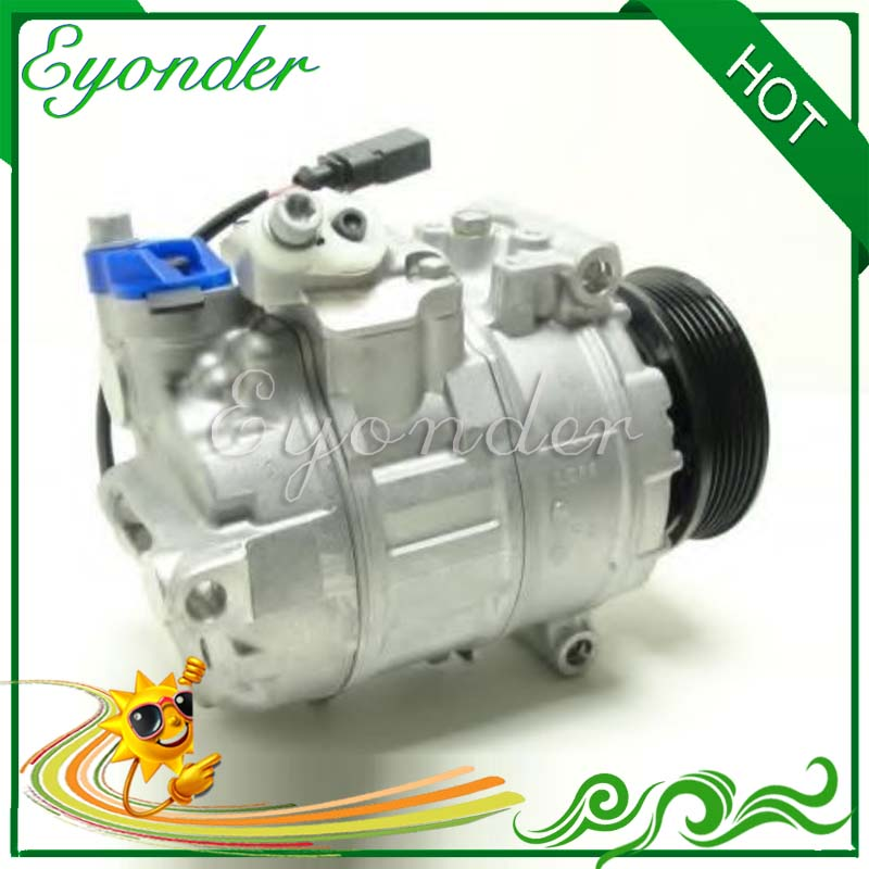 AC A/C Air Conditioning Compressor Cooling Pump for VW Volkswagen T5 TRANSPORTER CARAVELLE Bus 7HB 7HJ 7EB 7E0820803D 4472604890