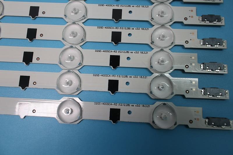 832mm LED Backlight Lamp strip 13leds For SamSung 40 D2GE 400SCA R3 TV UA40F5500 2013SVS40F UE40F6400