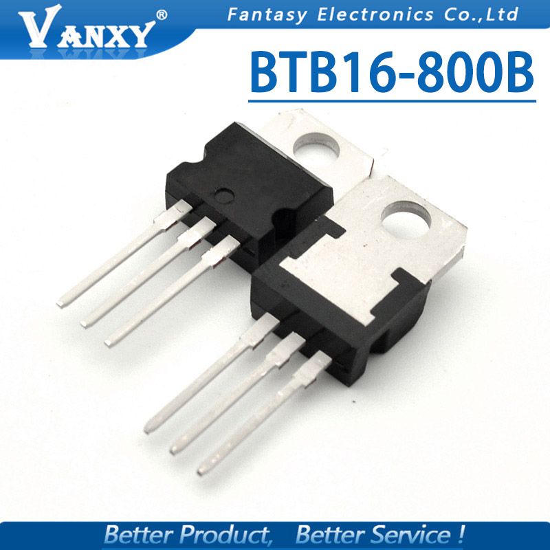 10pcs BTB16-800B TO-220 BTB16-800 TO220 BTB016 New Original