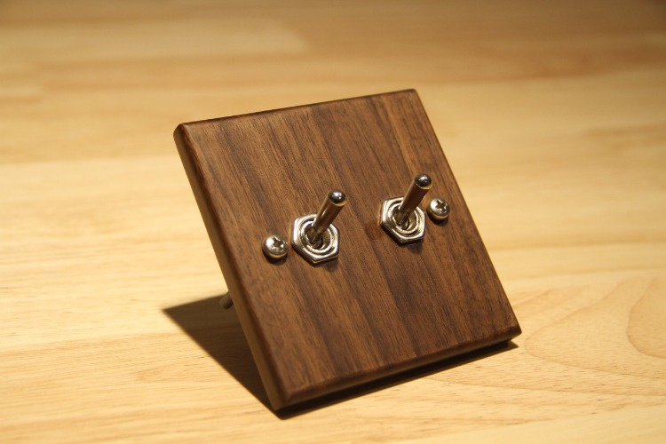 Wood Retro Wall Switch Wooden Two Control Two Way 6A 110V- 250V nicola jane hobbs yoga gym