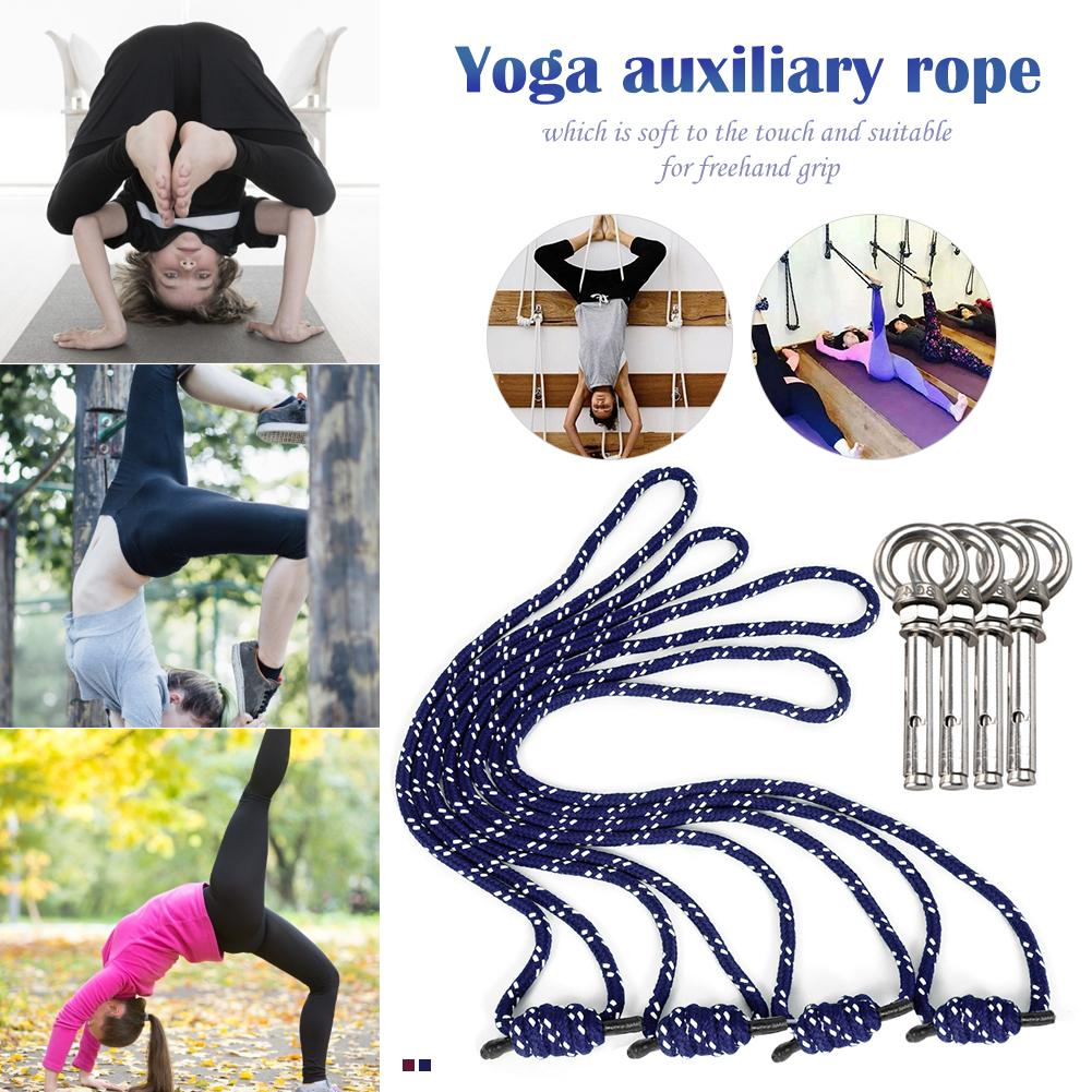 Anti-Gravity Yoga Wall Rope Polyester Cotton Aerial Yoga Auxiliary Wall Rope Yoga Lanyard Hanging Belt Gym Yoga Rope SlingAnti-Gravity Yoga Wall Rope Polyester Cotton Aerial Yoga Auxiliary Wall Rope Yoga Lanyard Hanging Belt Gym Yoga Rope Sling