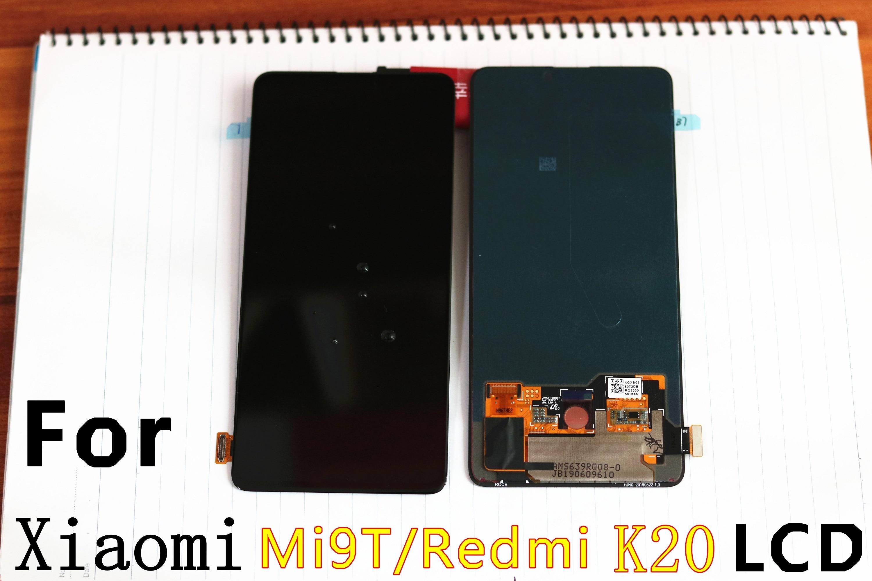 6 39 AMOLED Original LCD For xiaomi Mi9T Display xiaomi 9T LCD Display Redmik20 Lcd Touch