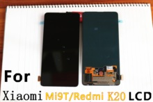 6.39 AMOLED Mi9T Display LCD Original Para xiaomi xiaomi Redmik20 9T Display LCD Assembléia Lcd Touch ScreenDigitizer