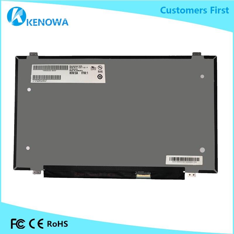 14 Inch LCD Display Panel Assembly B140HTV01.0 B140HTV01 0 LCD Screen14 Inch LCD Display Panel Assembly B140HTV01.0 B140HTV01 0 LCD Screen