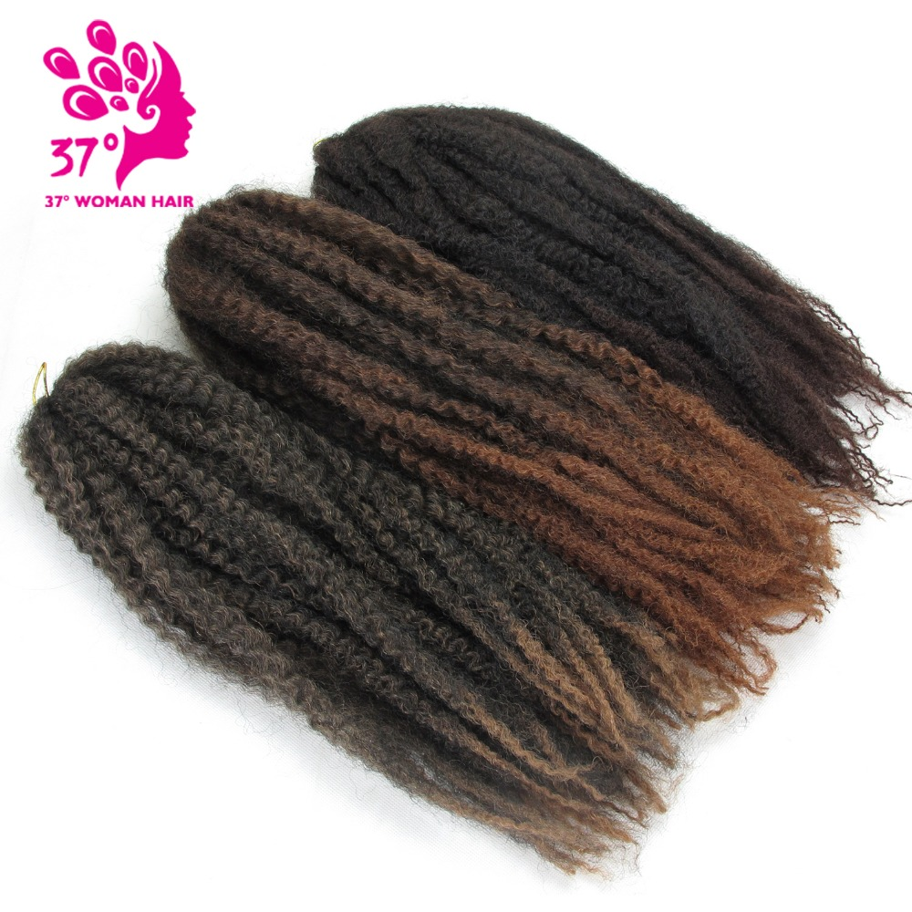 Dream ice's High Temperature crochet ombre Marley baid hair jumbo braiding hair extension for black women