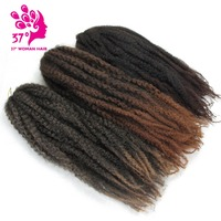 Dream ice's High Temperature synthetic crochet ombre Marley baid hair jumbo braiding hair extension for black women