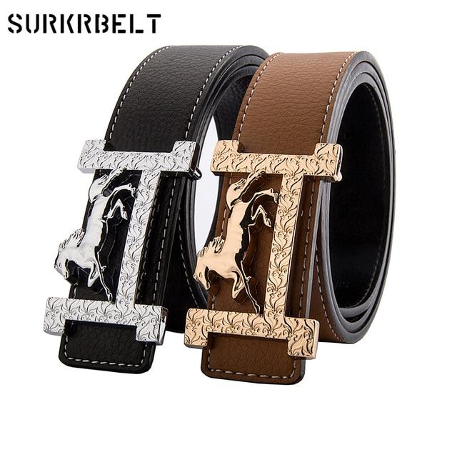 H diseñador de marca de lujo cinturones para hombre de cuero genuino hombre  mujer Jeans moda b6510a25d489