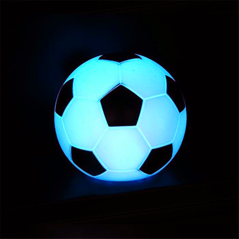 fairy 7 colors changing luminaria led football night lights for kids table lamp best decorative. Black Bedroom Furniture Sets. Home Design Ideas