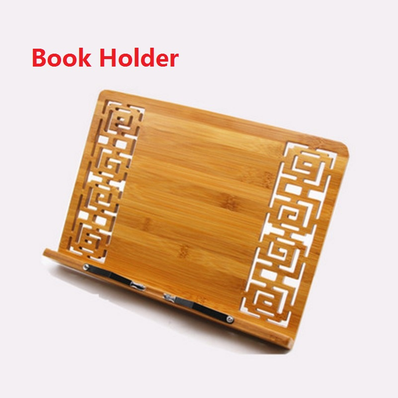 34*23cm Bamboo Book Stand Reading bamboo Large Medium Small rack zitie rack bookend reading photo frame; Book Stand Copy Holder medium length leather bamboo knife for young players 30 32 34 shinai kendo bamboo practice swords tsuba stop included
