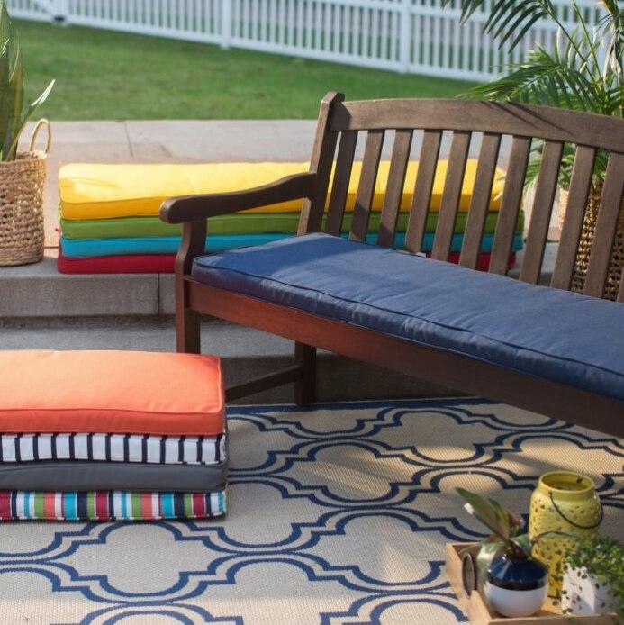 Hot Sale Multi Color Customized Sofa Seat Cushion Patio Furniture