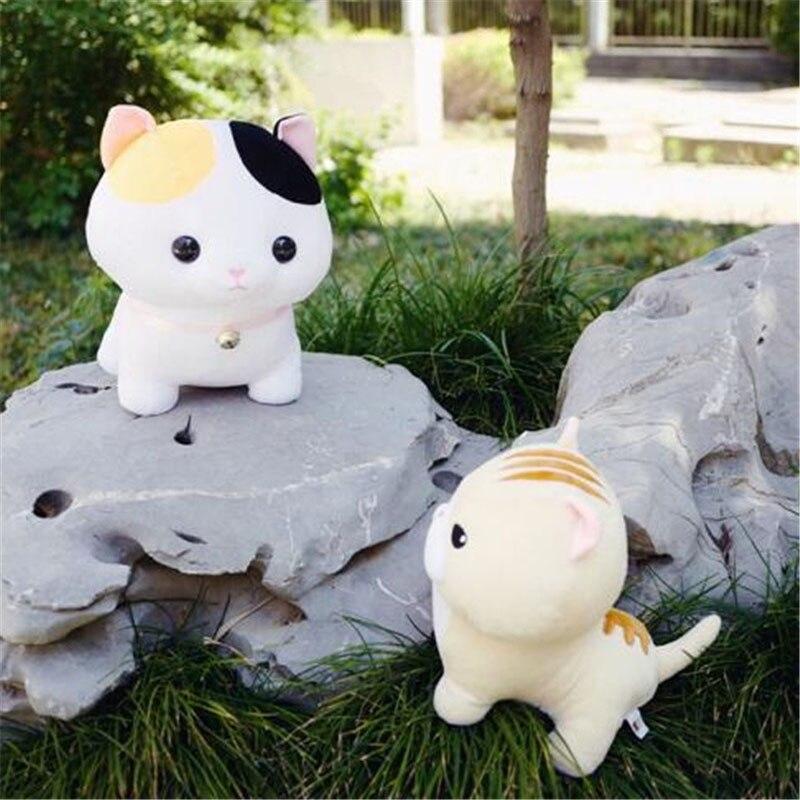 Doub K 5 pcs/lot kawaii chat en peluche jouet 30 cm 40 cm doux peluche poupées Simulation animaux en peluche jouets enfants oreiller cadeau créatif - 3
