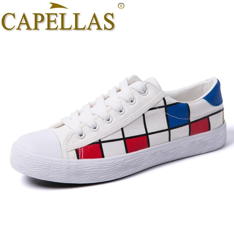 CAPELLAS Moda Eğlence Erkekler Kanvas Ayakkabılar Mens Ayakkabı - Erkek Ayakkabıları