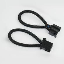 Un Par MÁS De Fibra Óptica Lazo Macho y Hembra Conector para Audi/BMW/Mercedes etc.