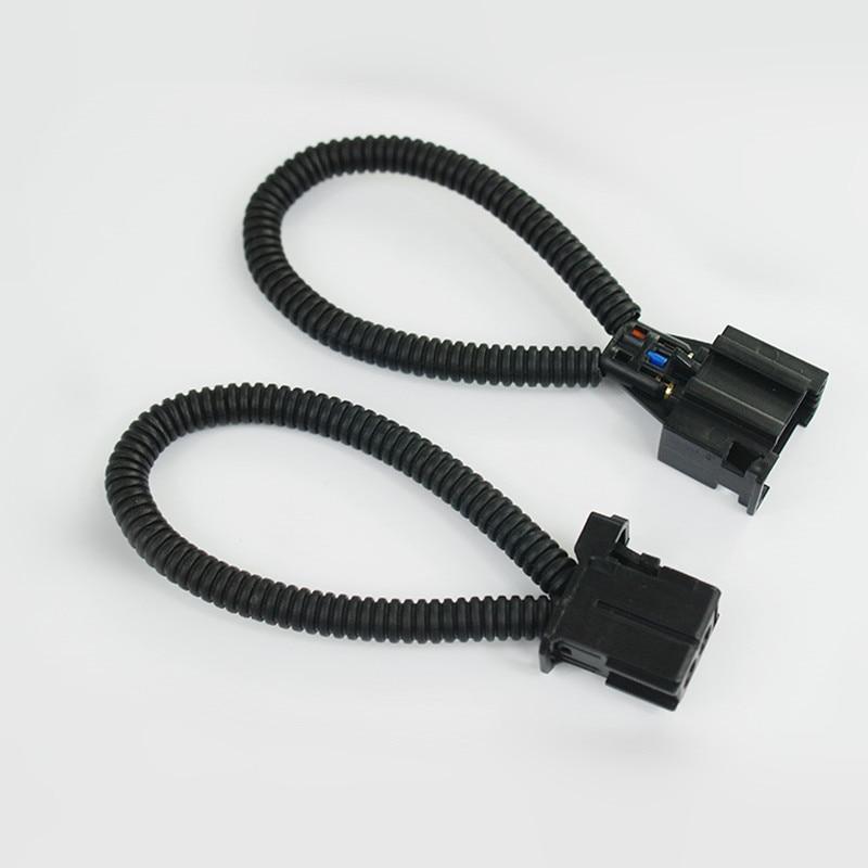 imágenes para Un Par MÁS De Fibra Óptica Lazo Macho y Hembra Conector para Audi/BMW/Mercedes etc.