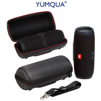 YUMQUA Portable Speaker Hard EVA Carrying Case For JBL Charge 3 Wireless Bluetooth Speaker Travel Storage