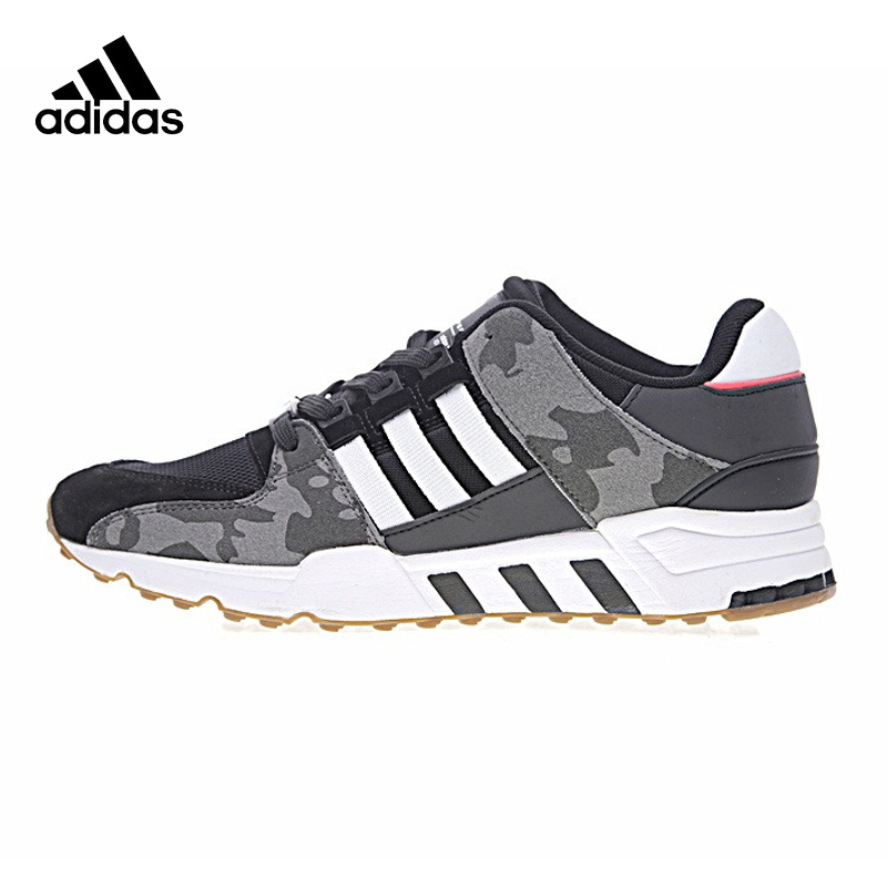 Adidas Clover EQT SUPPORT Men Running Shoes, Outdoor Sneakers Shoes, Black, Shock Absorption Non-slip BB1324 EUR Size M