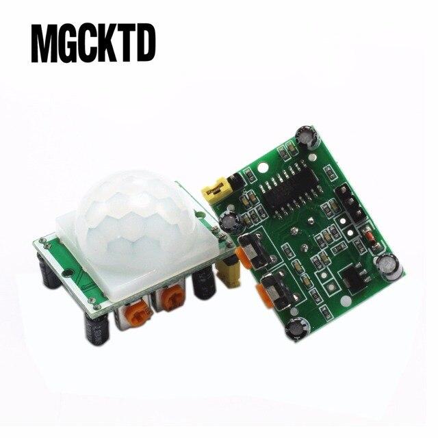 HC-SR501 HC SR501 Новый Отрегулируйте инфракрасный ИК-движения PIR Сенсор детектор Модуль безопасности движения HC-SR501