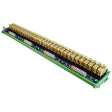 цена на Relay single-group module 32-way compatible NPN/PNP signal output PLC driver board control board