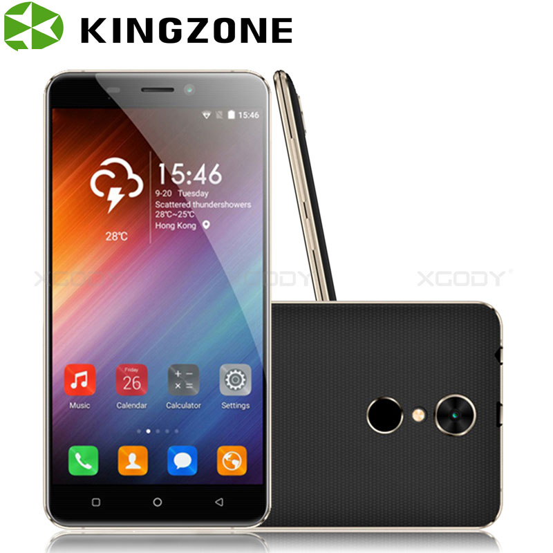 Kingzone S3 5 Inch Smartphone Shockproof 1GB RAM 8GB ROM Quad Core Fingerprint GPS Wifi Telefon