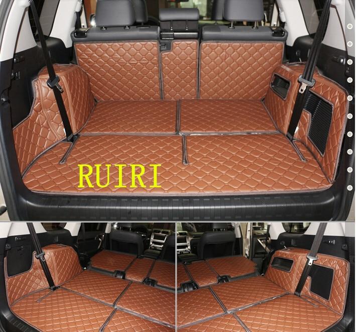 Good & Frete grátis! Esteiras tronco especial para Lexus GX 460 7 assentos 2018-2010 boot forro de carga para GX460 tapetes à prova d' água 2014