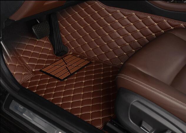 JIOYNG Auto Custom Foot Matten 3D Luxe Lederen Auto Vloermatten Past Voor Suzuki Vitara 2016 2017 2018 - 2