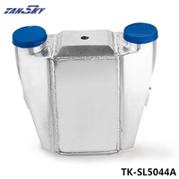 UNIVERSAL ALUMINUM WATER TO AIR TURBO INTERCOOLER FMIC 13.3 x12X4.5 Inlet/Outlet: 3 TK SL5044A
