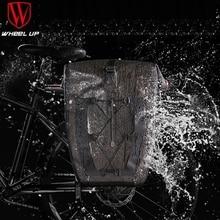 Waterproof Bicycle Rear Seat Trunk Bag 27L Bike Saddle Panniers Bicycle Pannier Rear Seat Bike Bag