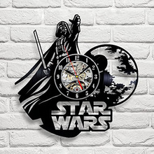 CV Wall Clock Star Wars
