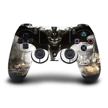 PS4 Controller Skin The Batman PVC HD Sticker Protective Cover For Sony PlayStation 4 Wireless Controller Accessory