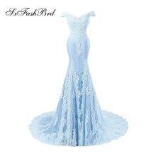 Вестидо де Феста Солодка коротка рукава Русалка довга формальна Вечірні сукні вечірні сукні сукня De Soiree Longue 2017