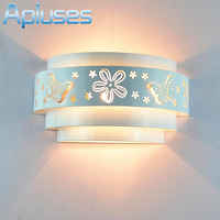 Fashion Modern Art High Grade Wall Lamp For Home Bedroom Living Room Decoration Wall Light White