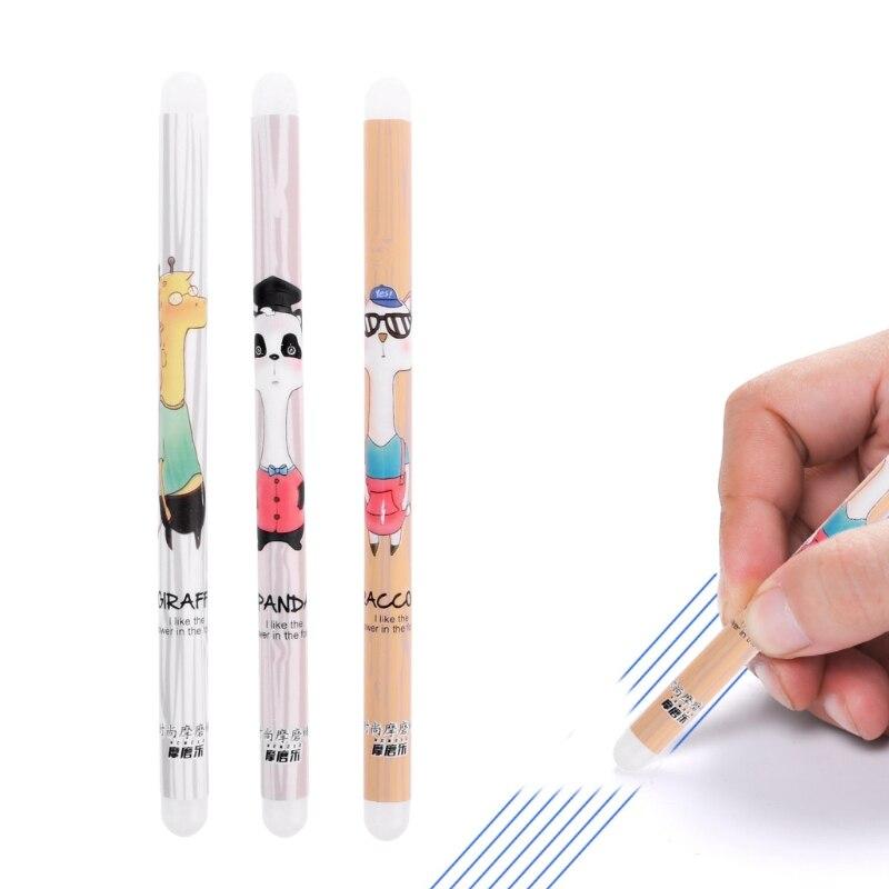 Creative Cartoon Animal Silicon Double Head Friction Eraser For Erasable Gel Pen